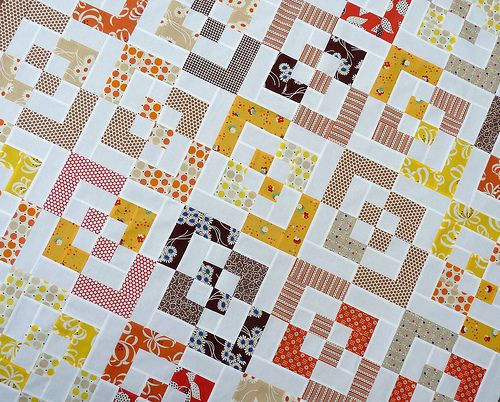 Red Pepper Quilts: KJR Quilt - A Block Jumble Bento Box block 12 ... : charm square quilt pattern - Adamdwight.com