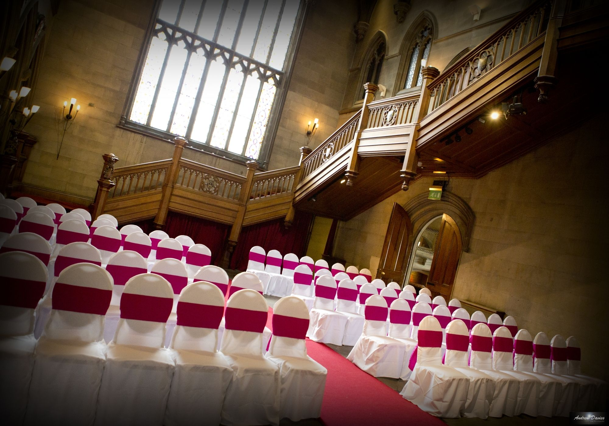 chair covers north east compact travel beach chairs magenta red pink matfen hall northumberland by teesside and middlesbrough wedding photographer www andrew davies com