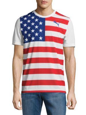 73bfa5469 PUMA Olympic Fan Wow T-Shirt. #puma #cloth #t-shirt | Puma Men ...