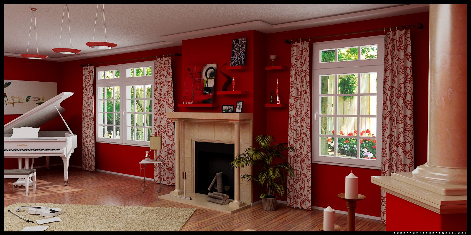 Redrooms Dazzling Red Purple Living Room Ideas Listed In