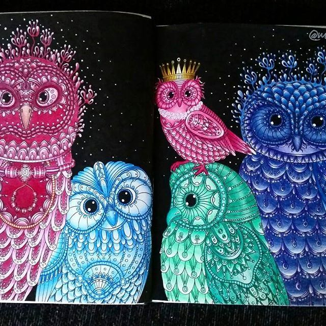 Wow, finally finished with the owl family! Started on this ...