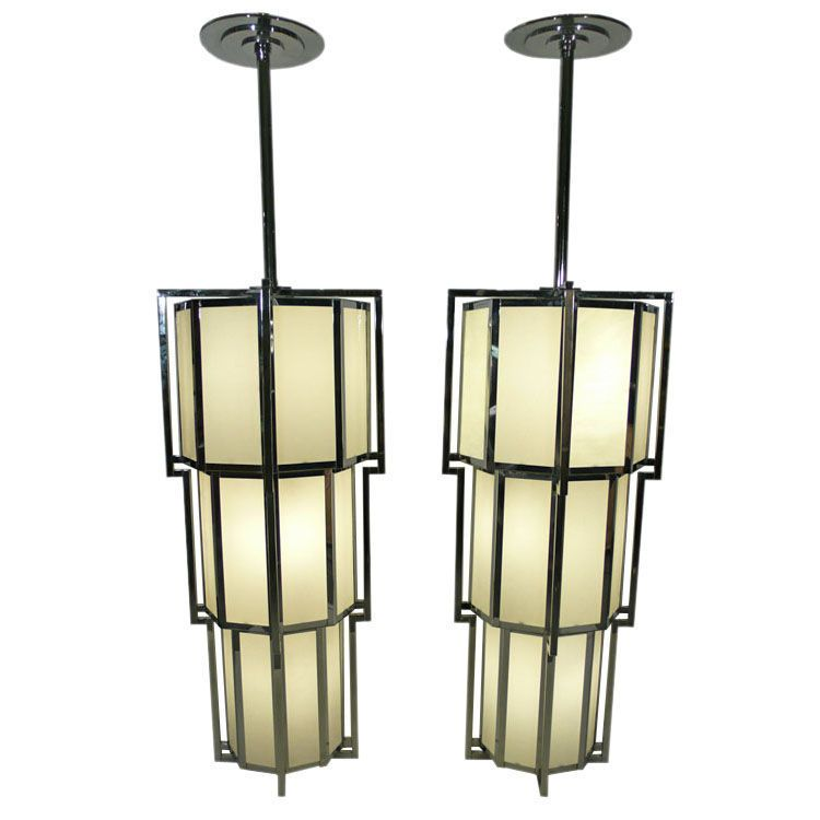 1stdibs Monumental Post Modern Art Deco Inspired Chandeliers Explore Items From 1 700 Global Dealers At