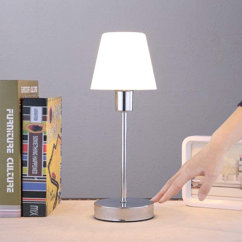 Mooi Gevormde Tafellamp Sascha Met Glazen Kap Tafellamp Klassiek Interieur Lampen