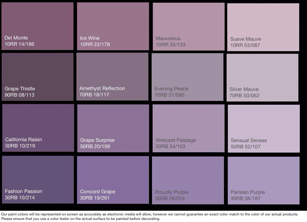 Exceptional Lavender Paint Color 6 Glidden Purple Colors
