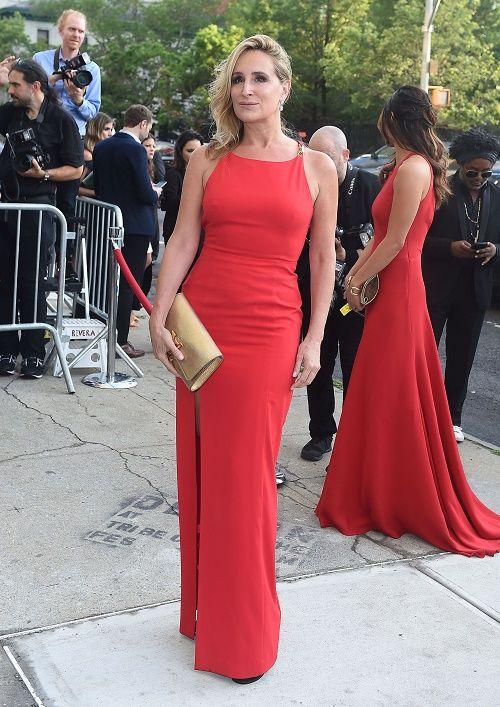 Entertainment News Hollywood Celebrity Gossip Crossback Dress Red Dress Dresses