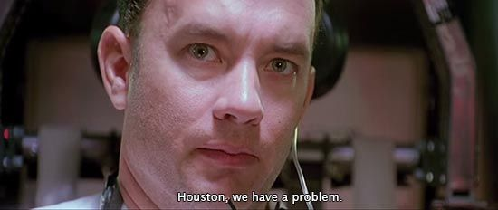 Apollo 13 (1995)... Houston, we have a problem. -Tom Hanks as Jim Lovell | TCM Classic Film ...