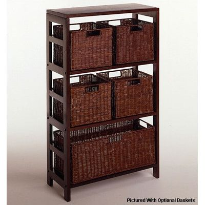 Look What I Found On Wayfair Storage Cabinet With Baskets Decorative Storage Cabinets Basket Shelves