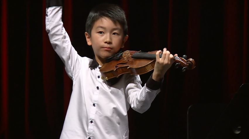 Christian Li Plays Johann Sebastian Bach Henryk Wieniawski Antonin Dvorak Menuhin Competition 2018 Junior First Sebastian Bach Competition Tv Commercials