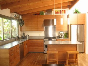 Custom Ikea Kitchen Bamboo Contemporary Kitchen San Francisco Semihandmade Contemporary Kitchen Bamboo Kitchen Cabinets Ikea Kitchen Design