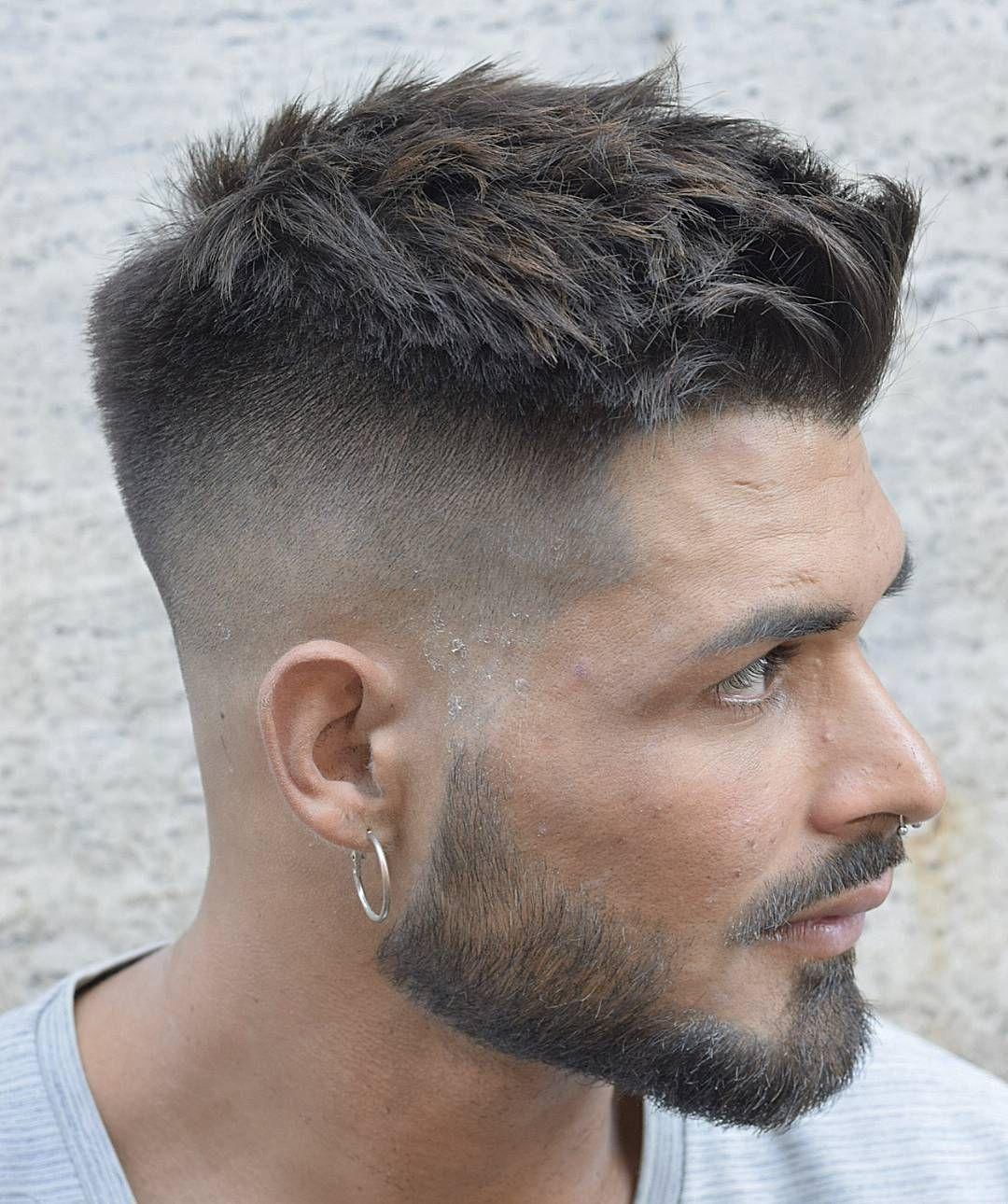 alebbarber short mens haircut  Mens hairstyles  Pinterest
