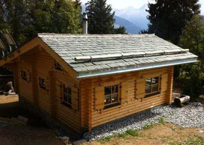 Watsons Blockhütte