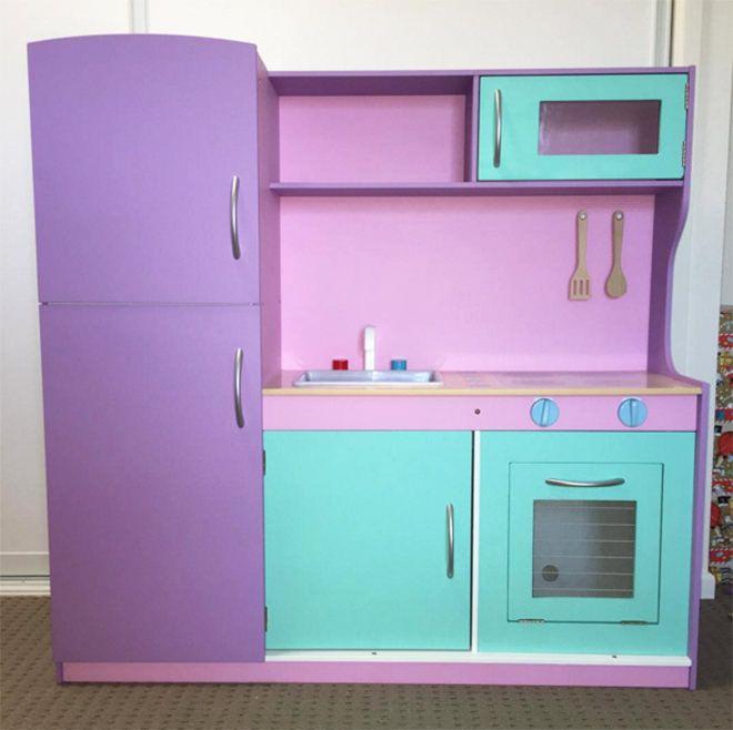 Purple The Best Hacks Of Kmart Kids Kitchen Toy