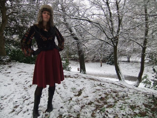 Outfit Post: Snow