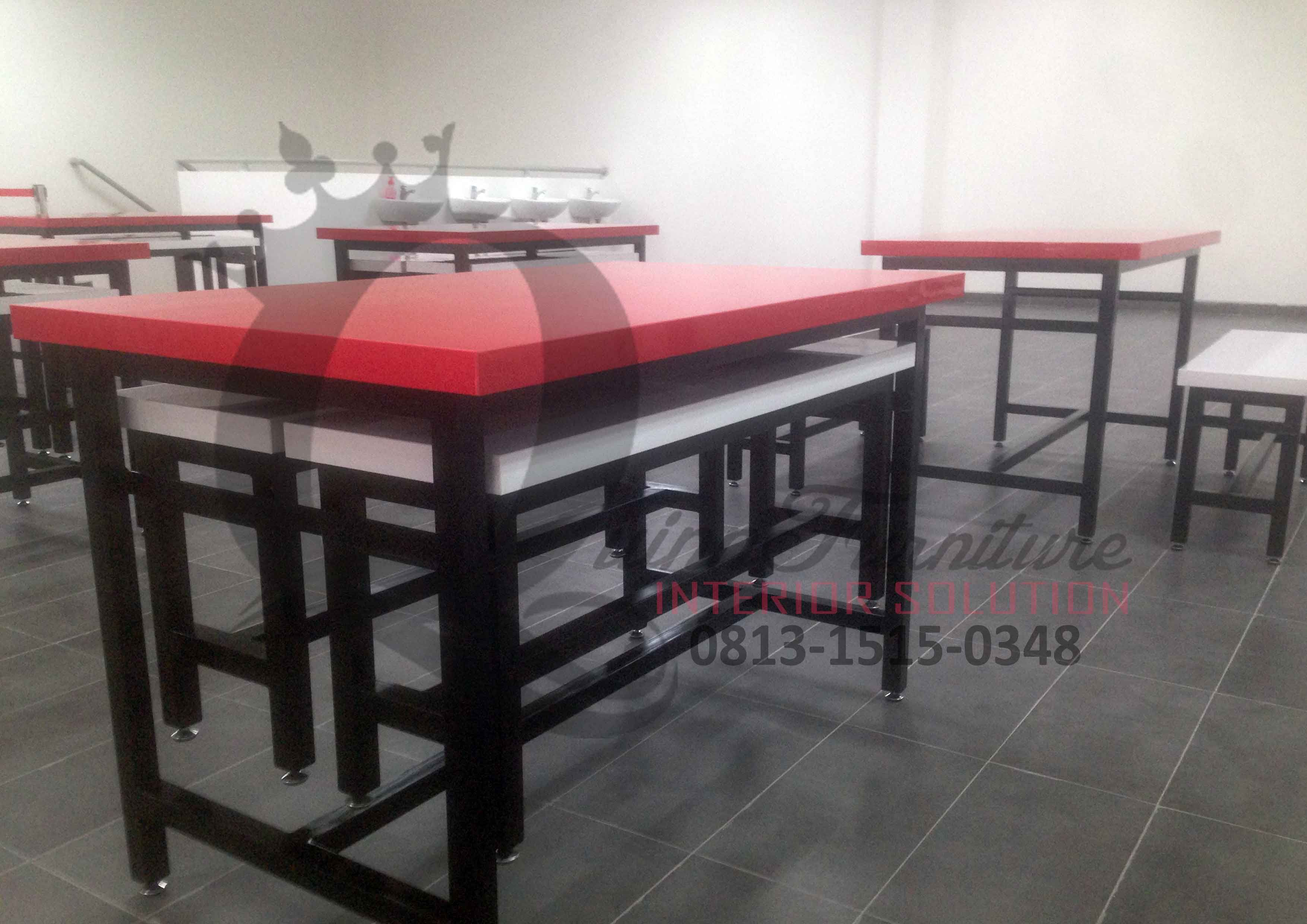 Meja Kantin Glico Wings   Workshop Furniture