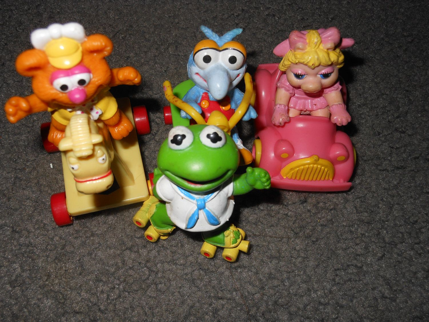 Toys From The 1980s : S mcdonald land muppet babies pvc figures toys