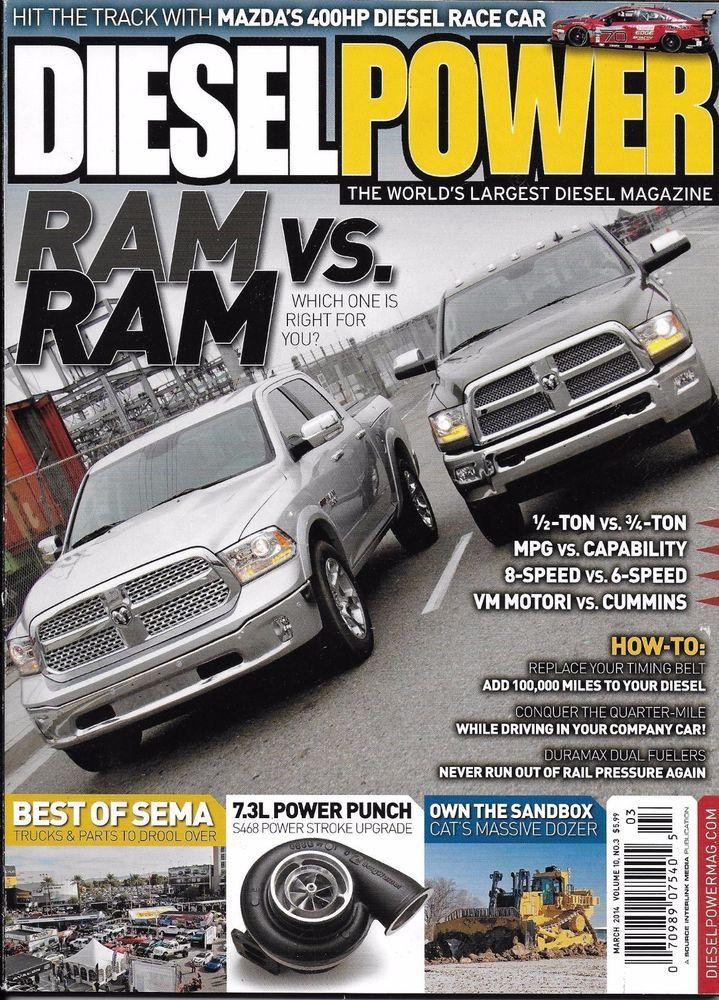 Diesel Power magazine Dodge Ram Timing belt Power stroke