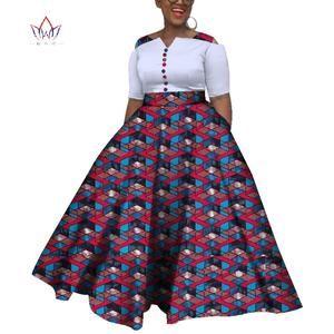 2019 african dresses for women AFRIPRIDE bazin riche ankara print dash – Owame #africandressstyles