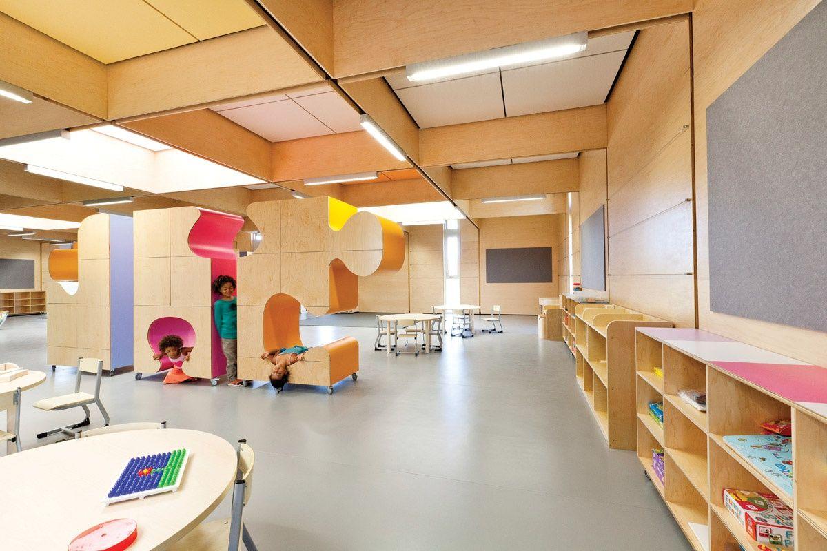 JSRACS KINDERGARTEN by Brooking Design Architects