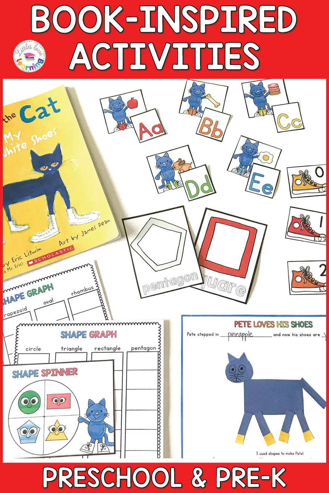 Super Groovy Pete The Cat Activities For Preschool And
