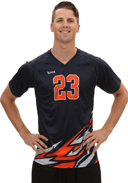 3fadfb98c Bolt Men s Sublimated S S Volleyball Jersey