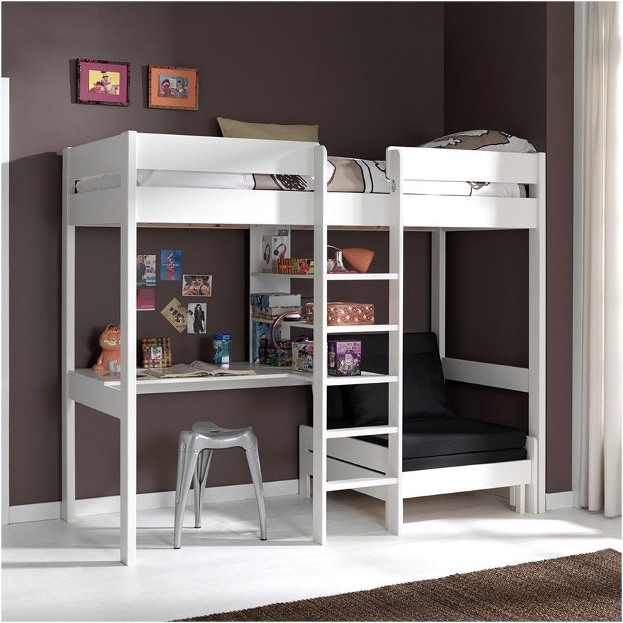 14 Regulier Chambre Ado Fille Mezzanine Photos In 2020 High Sleeper Bed Loft Bed Bunk Bed With Desk