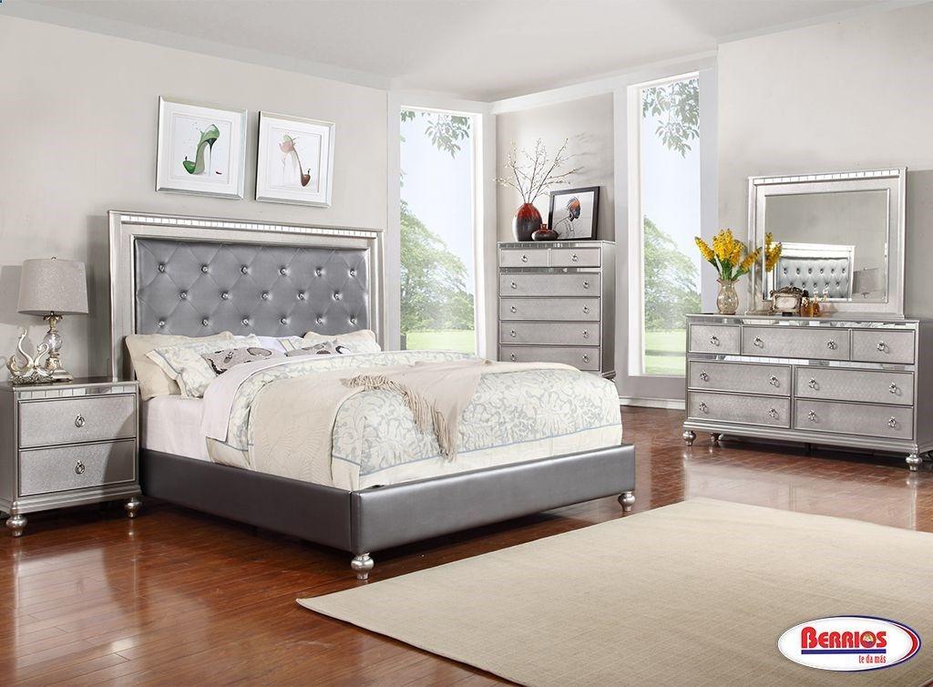 4183 Bedroom Sets Berrios te da más Contemporary