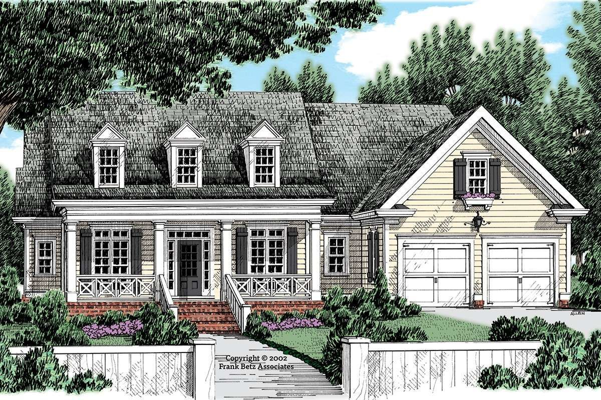 House Plan 8594 00430 Ranch Plan 1 933 Square Feet 3 Bedrooms 2 5 Bathrooms In 2021 Ranch House Plan Country House Plan Southern House Plan