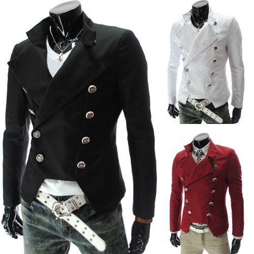 release info on new collection purchase cheap Pas cher Dernières Steampunk Retro Slim Fit colombie hommes ...