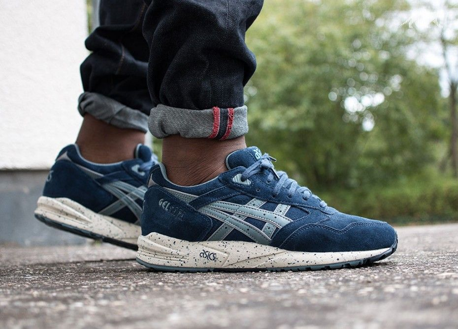 Asics Gel Saga Men Blue Goblin Blue Navy Shoes