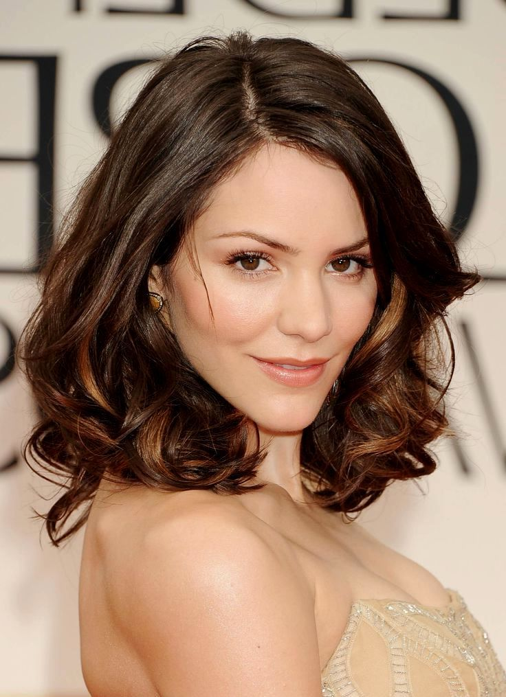 Hairstyles For Black Permed Hair Medium Length : Image result for medium length hairstyles thick wavy hair oval