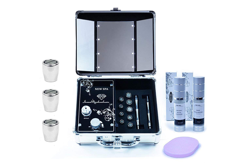 جهاز التقشير الالماسي New Spa للعناية بالبشرة Skin Care Kit Microdermabrasion Microdermabrasion Machine