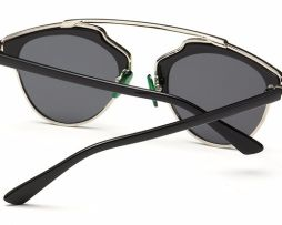 52cc267c6 Štýlové polarizované slnečné okuliare - strieborno-čierne | slnečné ...