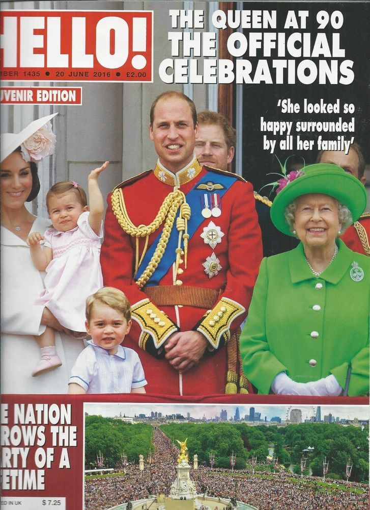 Hello magazine Queen Elizabeth Kate Middleton Prince William Jessica Knowles