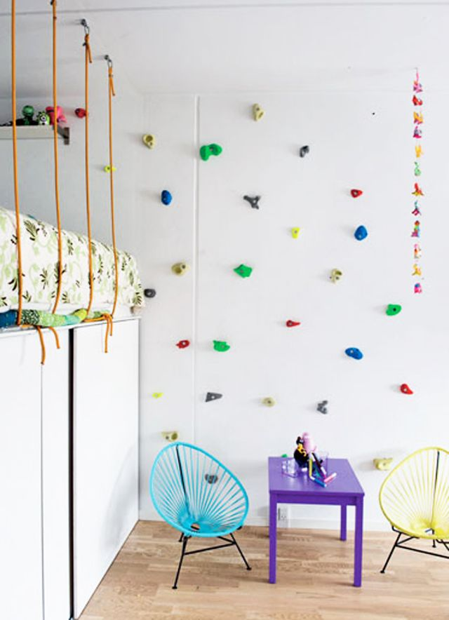 pared-escalada-rocodromo-habitacion-ninos | BABY SPACE COACH + ...