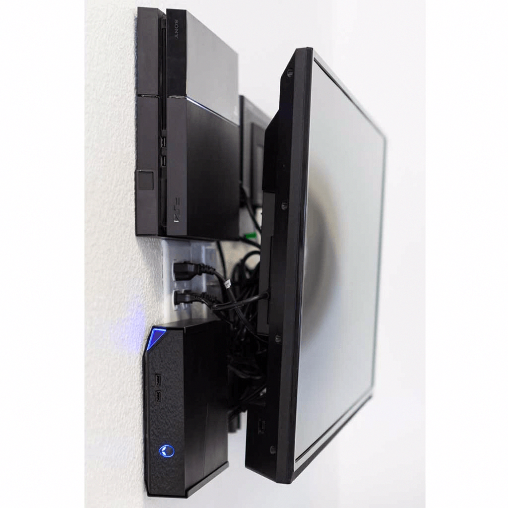 playstation 4 wall mount description features on wall brackets id=46471