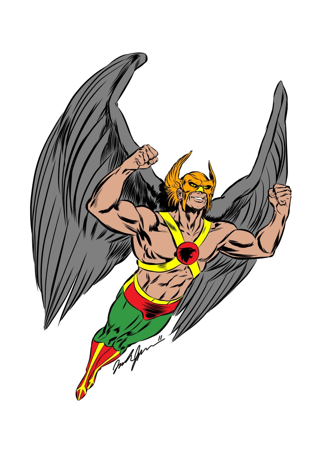Pin On Hawkman Hawkgirl