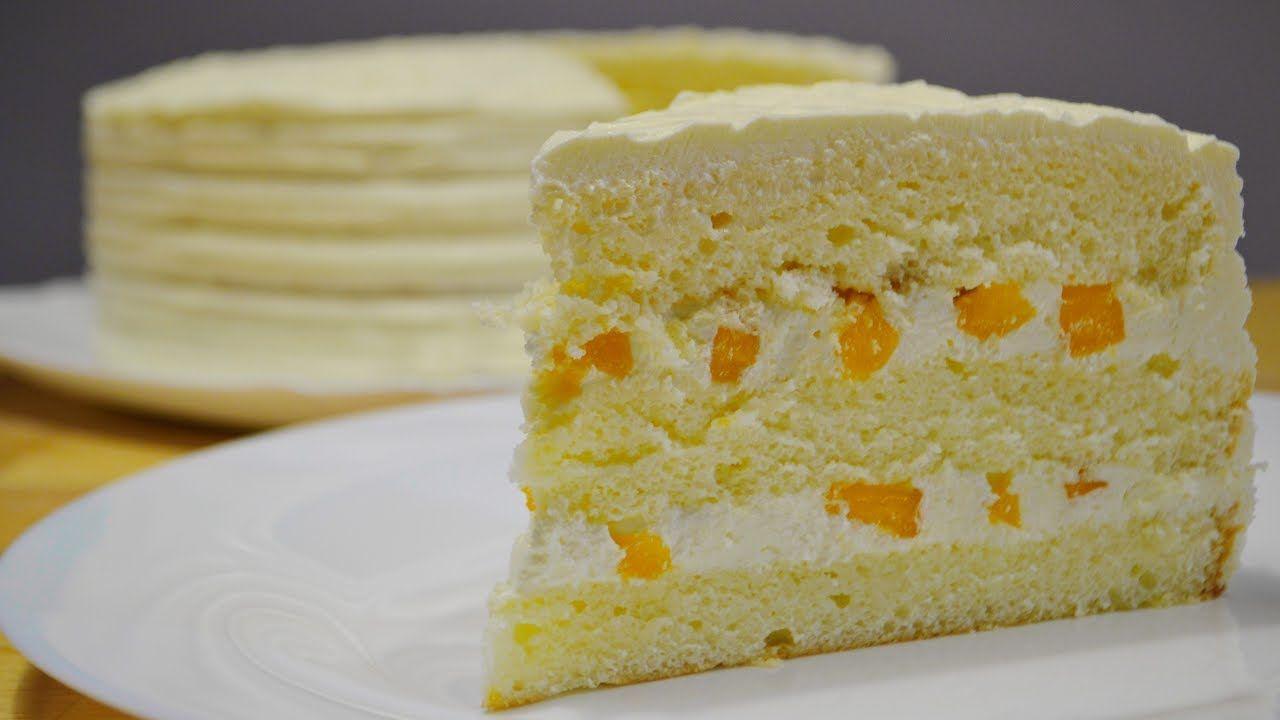 лимонный крем на торт