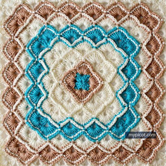 ➤ Crochet Box Stitch Baby Blanket (FREE PATTERNS) | Crochet | Pinterest