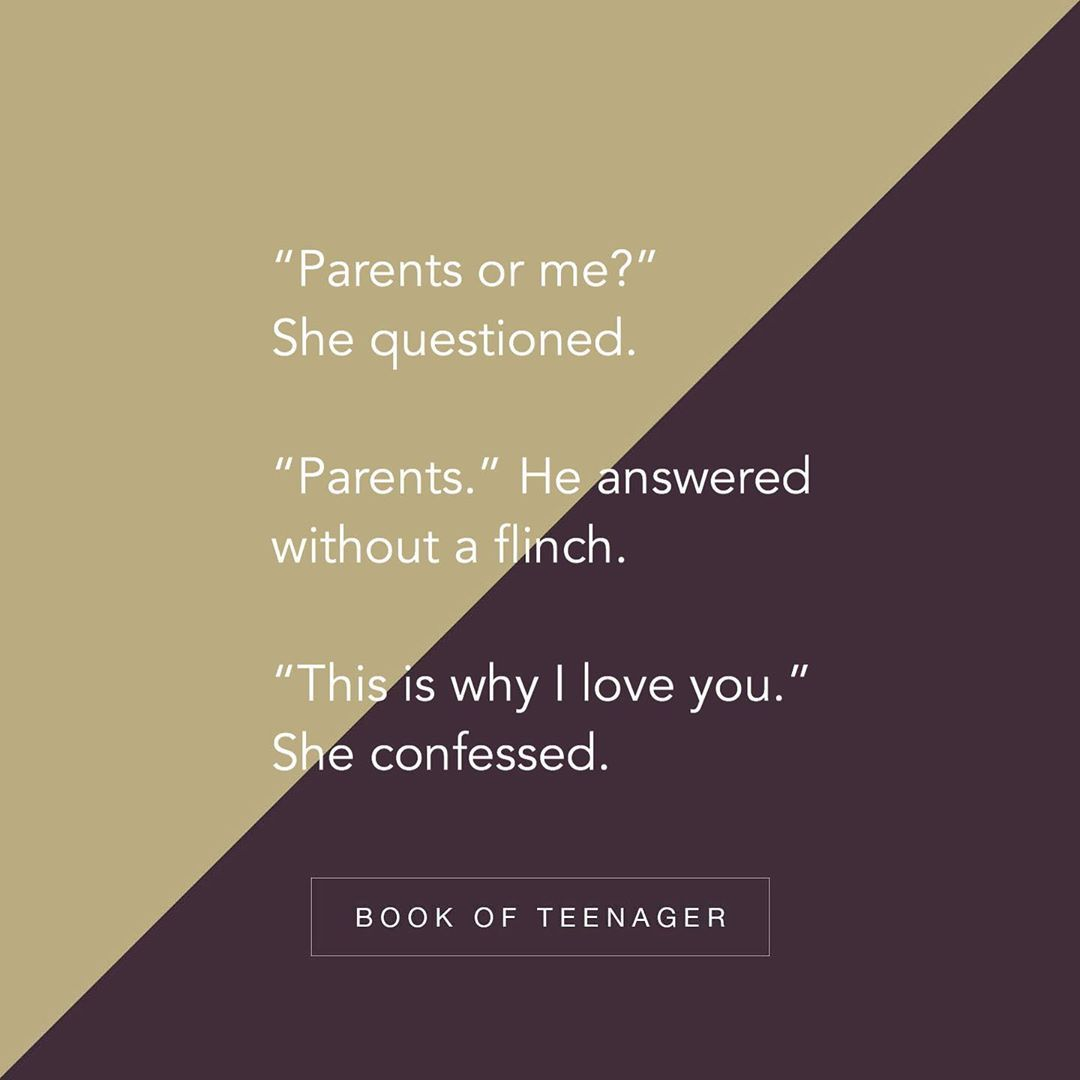 Marry To The One Who Chooses Parents First Follow Bookofteenager Via Thoughts Of Your Choic Friends Quotes Funny Teenager Quotes Emotional Quotes