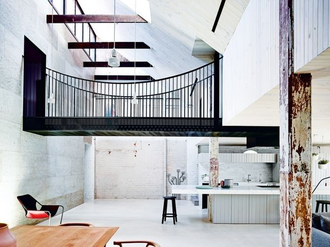 House tour: an 1880s factory in Melbourne becomes a home for two ...