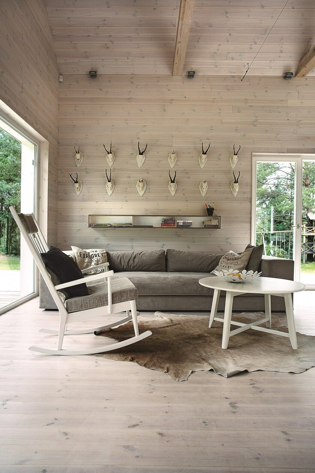 Lithuanian Hunting House by Devyni Architektai | Interior ...