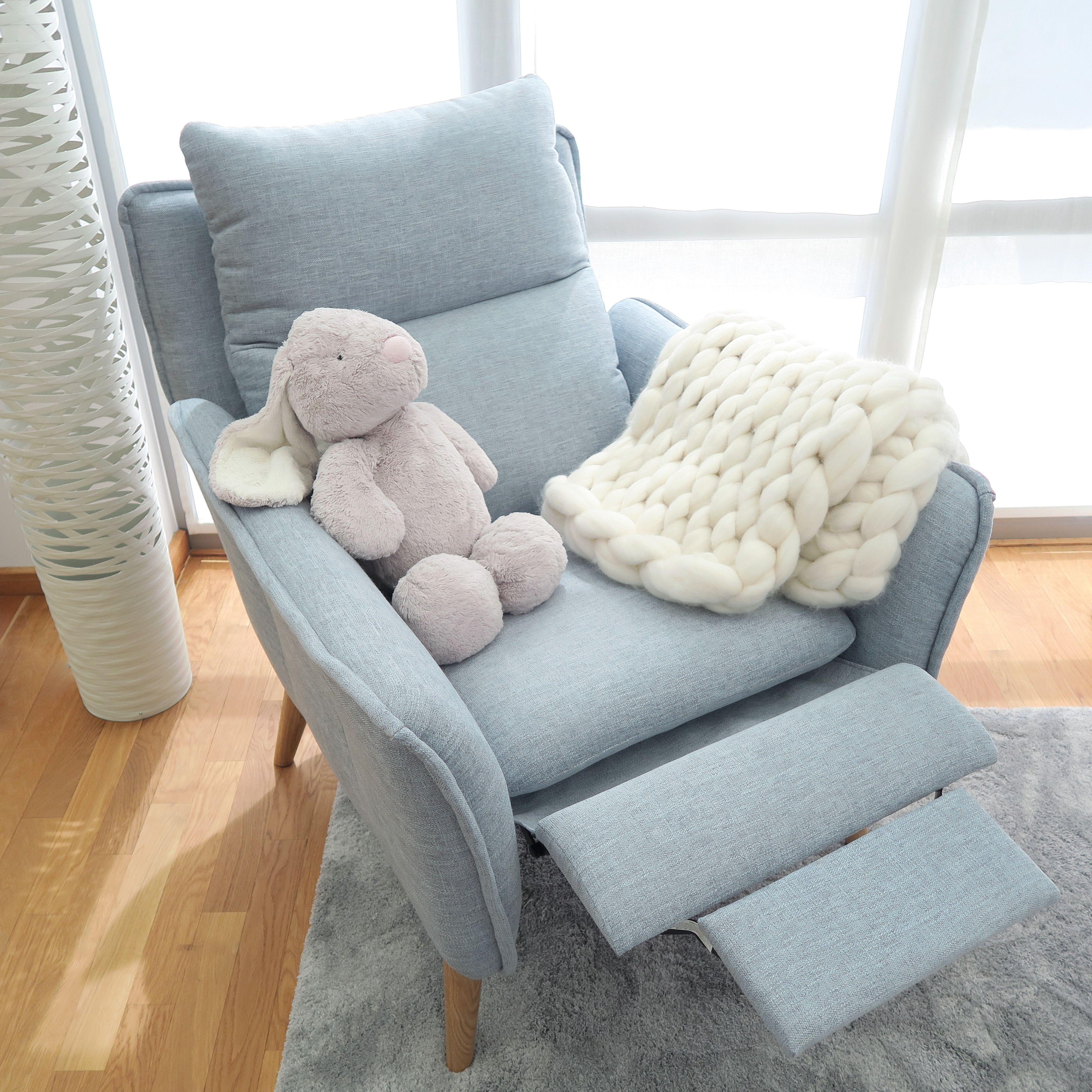 Relaxsessel Mit Liegefunktion Im Skandinavischen Stil Sessel Kinderzimmer Zimmer Relaxsessel