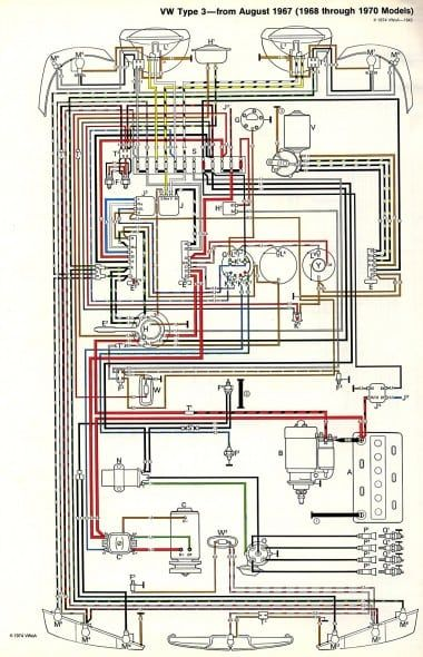 1973 Vw Thing Wiring Diagram Di 2020