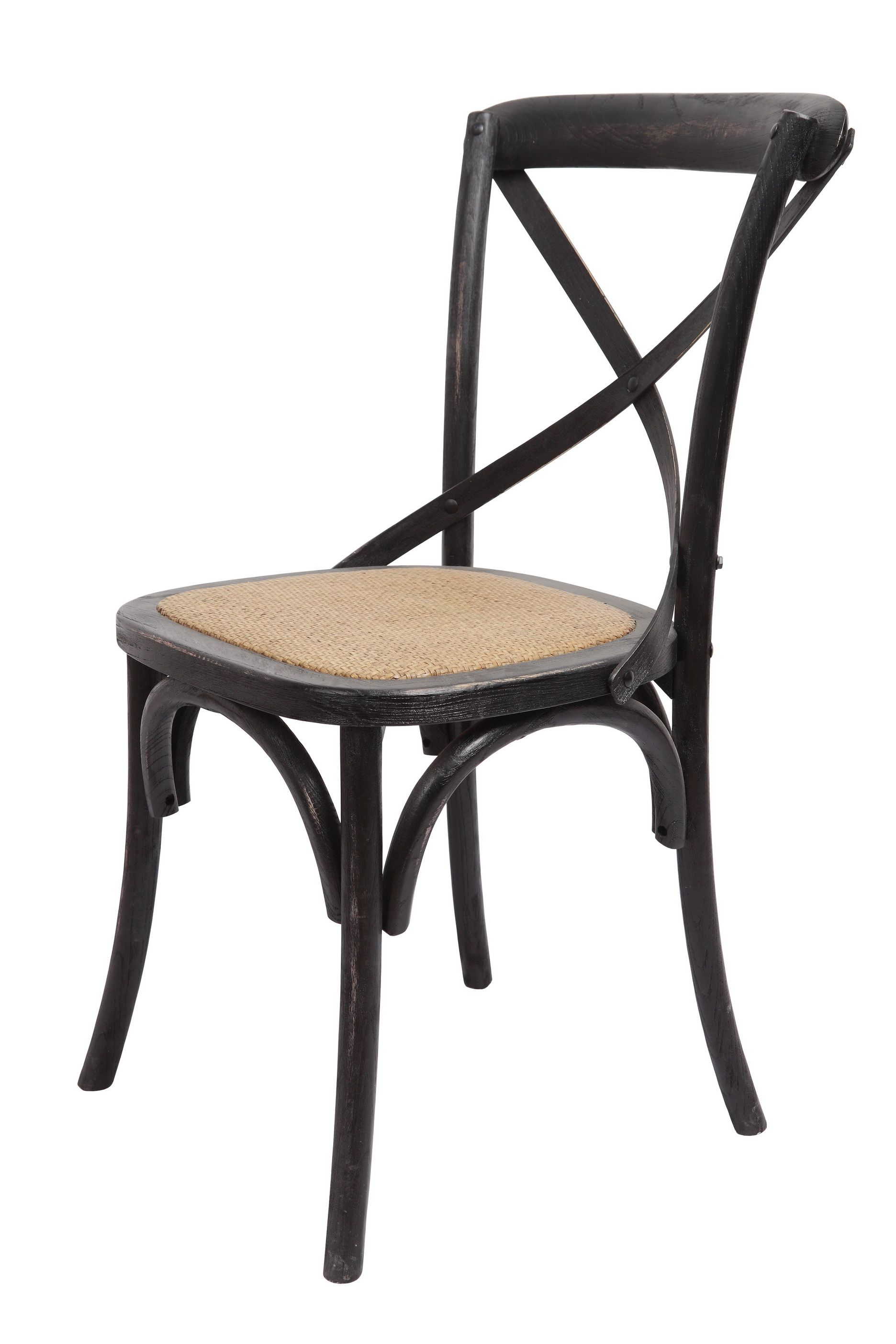 brody xback chair in black wash by forty west designs http
