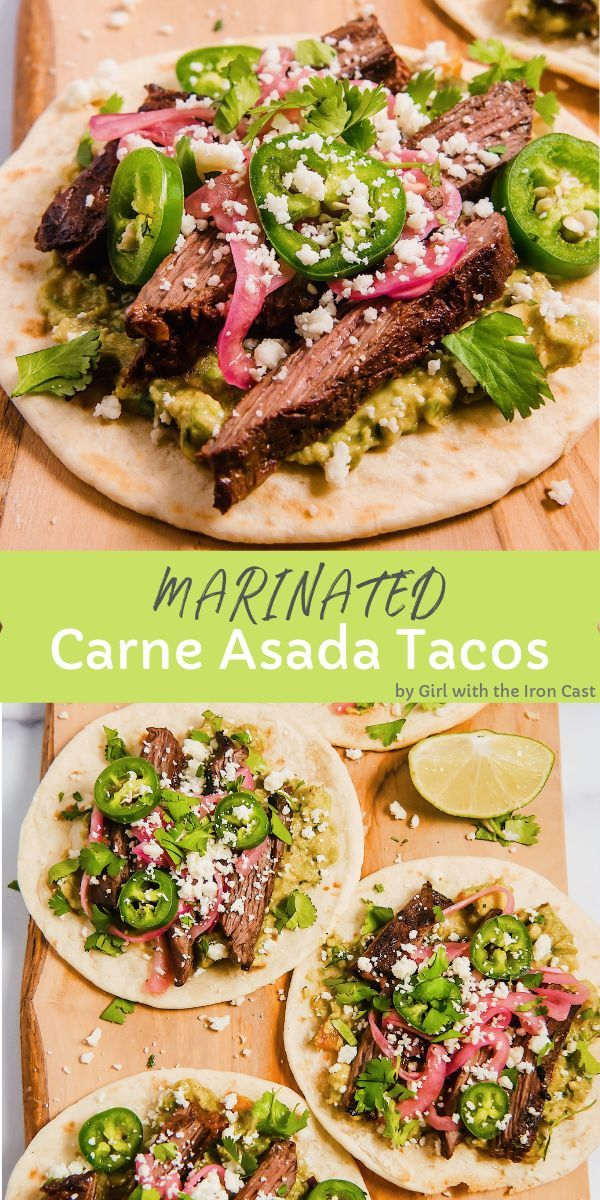 Carne Asada Tacos - Girl With The Iron Cast