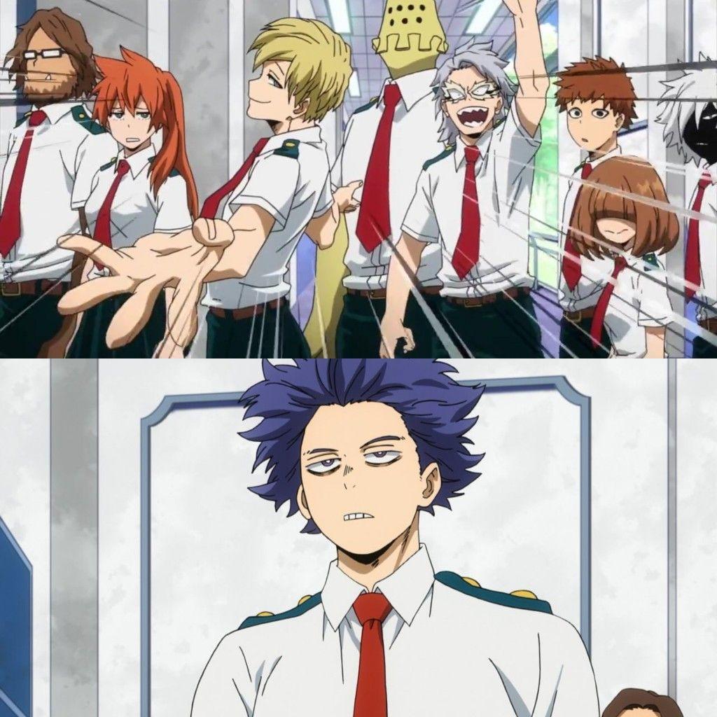 Class 1 B Shinsou Hitoshi My Hero Best Anime Shows Anime