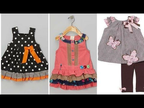 Home made frocks designs for kids easy to make at youtube also rh in pinterest