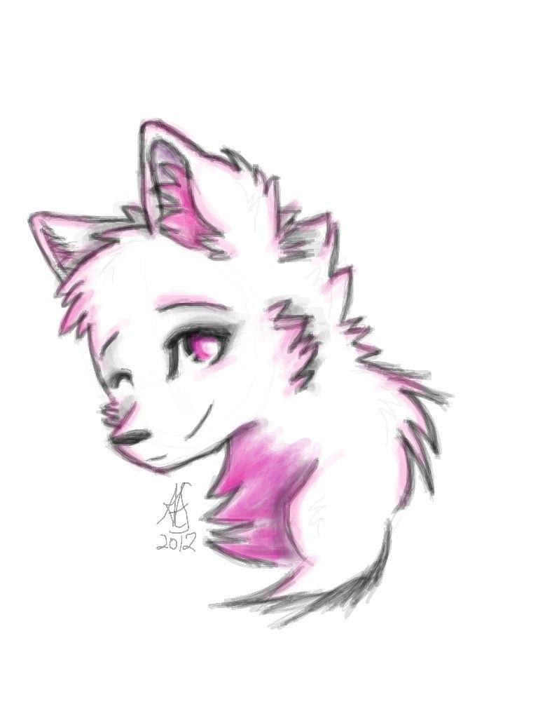 Cute Chibi Wolf 3 By Invaderzelena On Deviantart Cute Wolf Drawings Drawings Cute Drawings Of Love