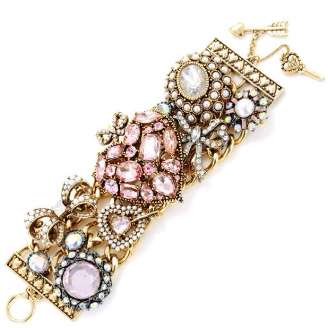 Betsy Johnson bracelet.