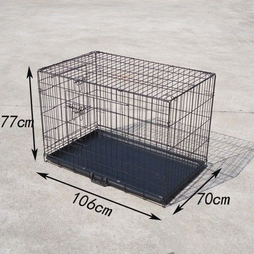 Tinnapet Pet Dog Cage Puppy Cat Collapsible Metal Crate Portable House Online Pets Shop Ship Australia Wide Dog Cages Portable House Pet Shop
